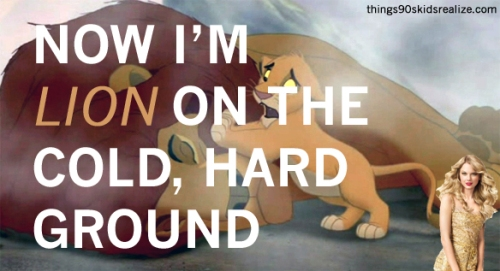Now I'm Lion On The Cold, Hard Ground